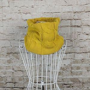Scarf Yellow Infinity Neck
